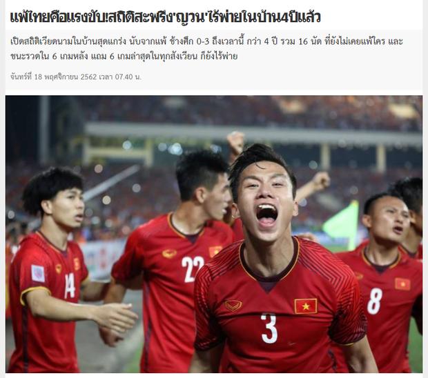 Truyền thông Thái Lan cảnh báo đội nhà về sức mạnh đáng sợ của ĐT Việt Nam trên sân Mỹ Đình - Ảnh 1.