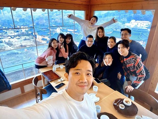 3 cặp bài trùng của Vbiz bất ngờ sang Hàn Quốc cùng một thời điểm, trời rét âm độ vẫn rủ nhau... đi ăn từ sáng tới đêm - Ảnh 4.
