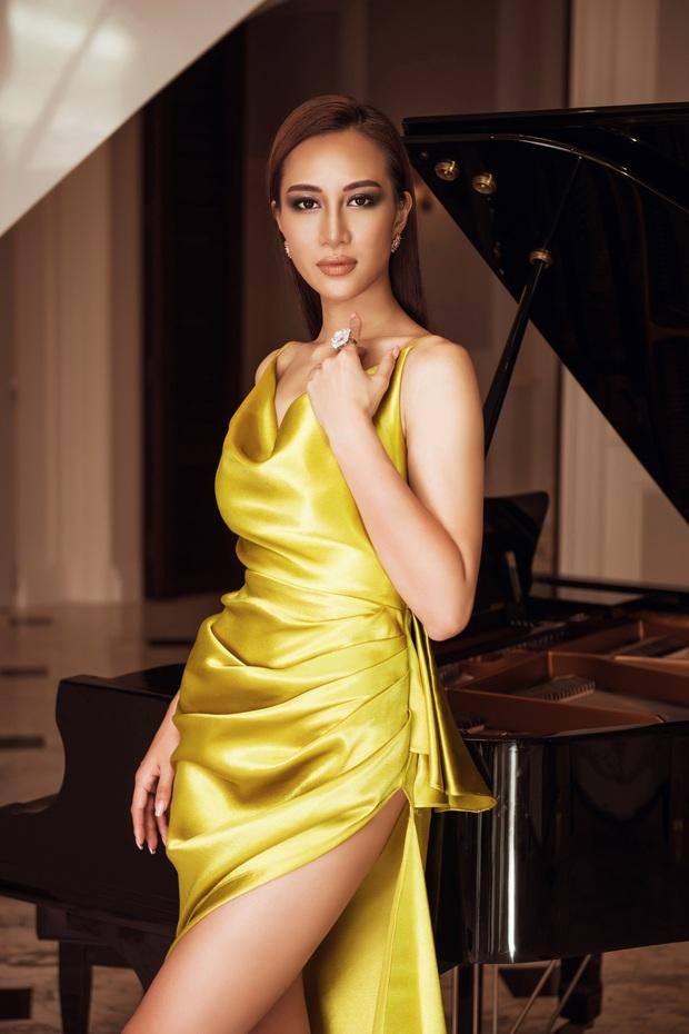 Top 45 Hoa hậu Hoàn vũ Việt Nam lộ diện: Thúy Vân khoe ngực đầy, đọ sắc cực gắt bên dàn mỹ nhân váy xẻ táo bạo - Ảnh 10.