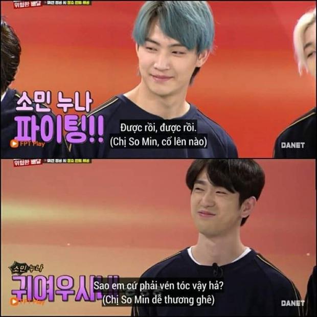 Running Man: Jeon So Min bối rối khi gặp lại Jinyoung (GOT7) và được crush làm thơ tặng... cực phũ - Ảnh 2.