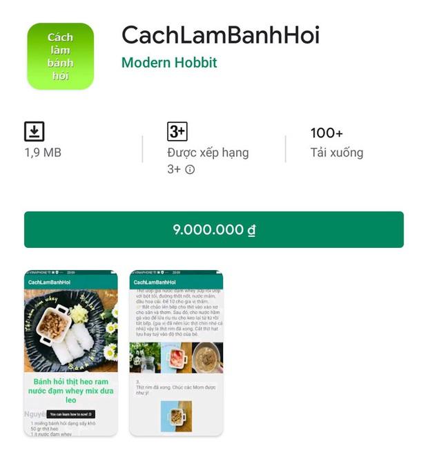 Ứng dụng rác hét giá tận 9 triệu đồng tràn ngập Play Store Việt Nam, chủ nhân thu lời hàng trăm triệu? - Ảnh 3.