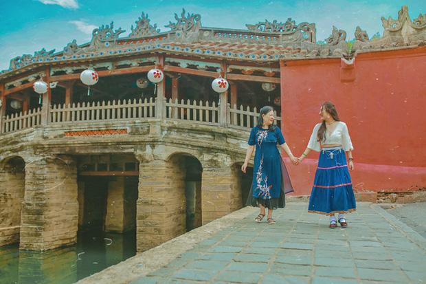 Cô gái đưa mẹ đi du lịch và chụp bộ ảnh tuyệt đẹp khắp Hội An khiến dân mạng siêu ngưỡng mộ - Ảnh 4.