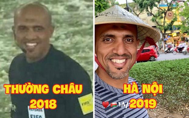 """Vừa đến Hà Nội, trọng tài tài bắt trận Việt Nam - Thái Lan đã check-in hồ Gươm tươi rói, cư dân mạng: """"Mai mong chú cũng vui thế này!"""" - Ảnh 4."""