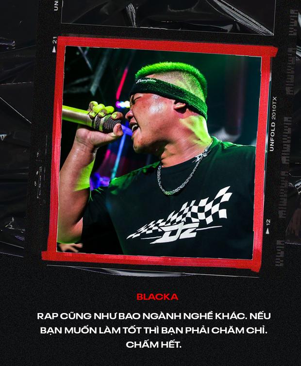 Dàn giám khảo Blacka, MC ILL, Rhymastic, Dick nói gì trước vòng Knock Out căng thẳng tại Beck'Stage Battle Rap? - Ảnh 13.