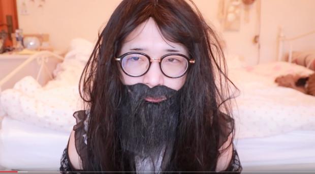 Sự thần kỳ của make-up: Youtuber Nhật Bản biến hoá vi diệu từ một người đàn ông trung niên thành cô gái dễ thương trong vỏn vẻn vài phút - Ảnh 3.