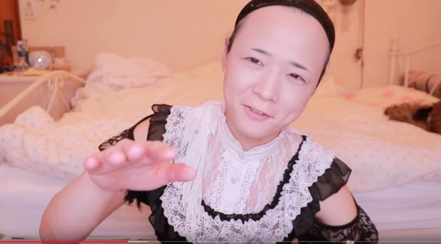 Sự thần kỳ của make-up: Youtuber Nhật Bản biến hoá vi diệu từ một người đàn ông trung niên thành cô gái dễ thương trong vỏn vẻn vài phút - Ảnh 4.
