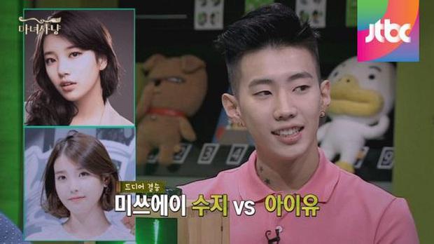 Nhan sắc các nữ thần Hàn qua phản ứng của dàn sao đình đám: GD mê Yoona như điếu đổ, IU mê hoặc cả em út BTS và TWICE - Ảnh 25.