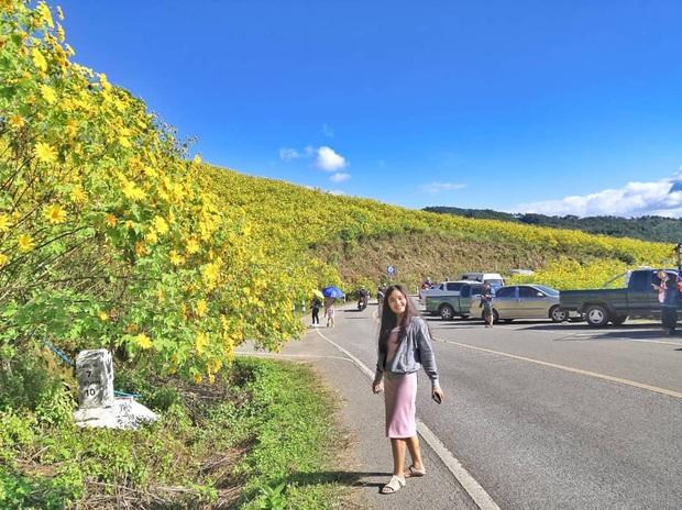 Đồi hoa dã quỳ vàng rực chẳng biết là mơ hay thật đang gây sốt toàn Thái Lan, xem ảnh ngoài đời chỉ biết ngỡ ngàng vì đẹp! - Ảnh 24.