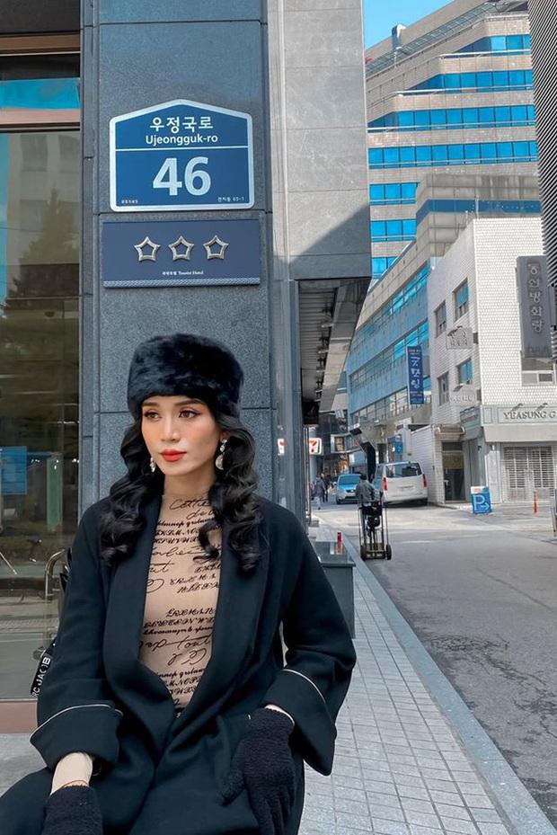 BB Trần diện Hanbok cực thần thái, sẵn sàng tiến cung ở Hàn Quốc: Đẹp thế này liệu có thể tranh sủng làm Hoàng hậu? - Ảnh 7.