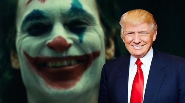 Lộ diện fan hâm mộ quyền lực nhất của nhà DC - Tổng thống Donald Trump: Chiếu luôn Joker trong Nhà Trắng! - Ảnh 1.