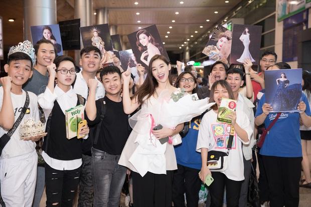 Sút 2 kg, Tường San trở về đầy rạng rỡ trong vòng tay chào đón của fan cùng thành tích Top 8 Hoa hậu Quốc tế - Ảnh 4.