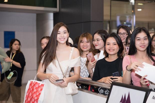 Sút 2 kg, Tường San trở về đầy rạng rỡ trong vòng tay chào đón của fan cùng thành tích Top 8 Hoa hậu Quốc tế - Ảnh 3.