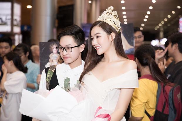 Sút 2 kg, Tường San trở về đầy rạng rỡ trong vòng tay chào đón của fan cùng thành tích Top 8 Hoa hậu Quốc tế - Ảnh 7.