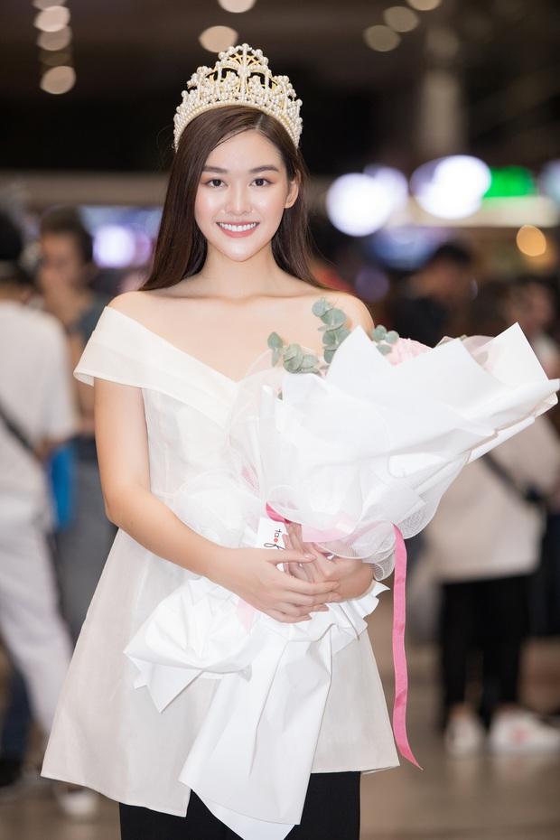 Sút 2 kg, Tường San trở về đầy rạng rỡ trong vòng tay chào đón của fan cùng thành tích Top 8 Hoa hậu Quốc tế - Ảnh 6.