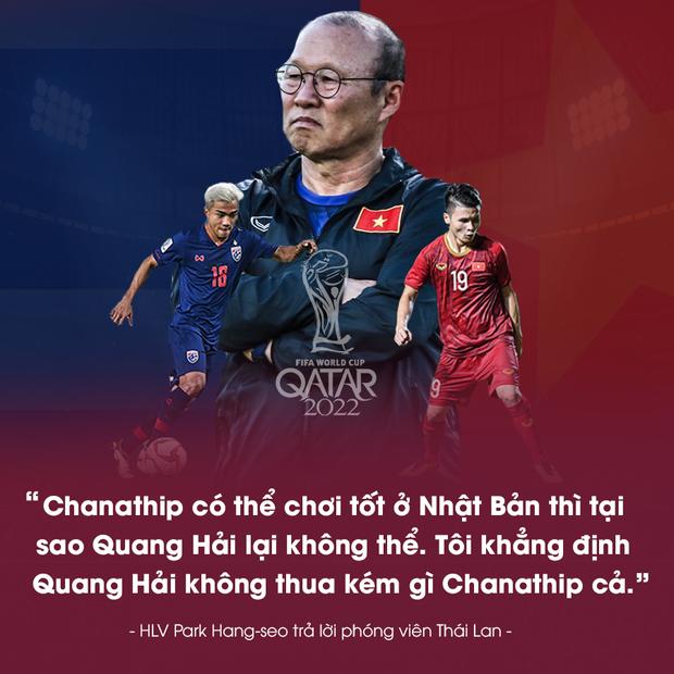 Phải vượt qua Thái Lan, thầy Park mới khẳng định được vị thế và giấc mơ vươn tầm bóng đá Việt - Ảnh 1.