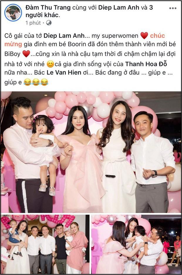 Diệp Lâm Anh gây ngỡ ngàng khi vừa sinh quý tử 1 ngày đã xúng xính lên đồ dự tiệc sinh nhật con gái đầu lòng - Ảnh 1.