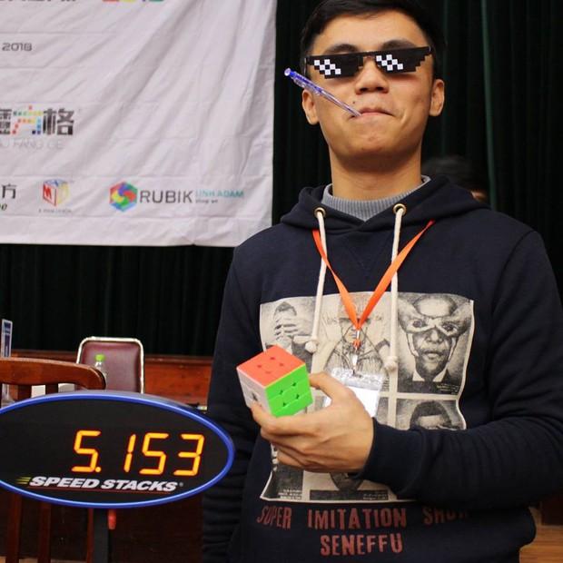 """Profile """"cỗ máy rubik gây ấn tượng tại Siêu trí tuệ tập 2: Đạt nhiều giải thưởng quốc tế, từng phá kỷ lục Việt Nam - Ảnh 5."""