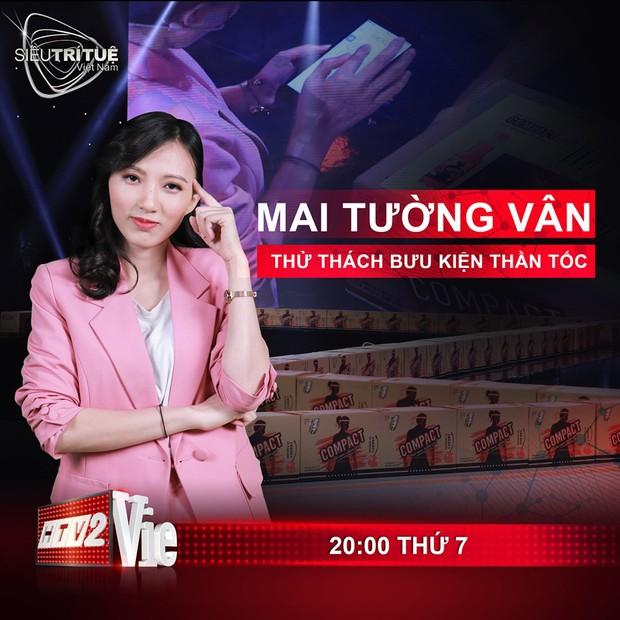 Gái xinh tham gia thử thách Bưu kiện thần tốc ở Siêu trí tuệ Việt Nam: Tính toán không giỏi nhưng ghi nhớ 300 con số trong vòng 5 phút là chuyện đơn giản - Ảnh 1.