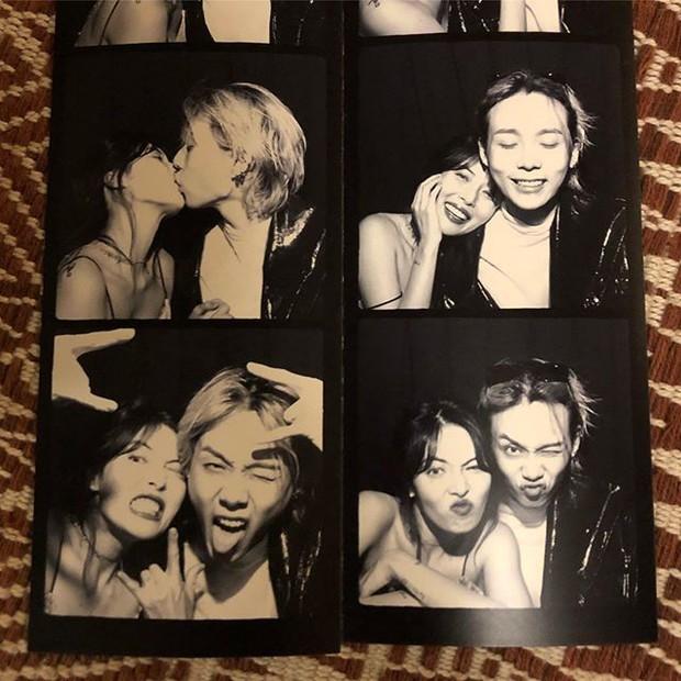HyunA khoe khoảnh khắc hôn môi ngọt ngào, tạo dáng bá đạo cùng bạn trai kém tuổi trên trang cá nhân - Ảnh 1.