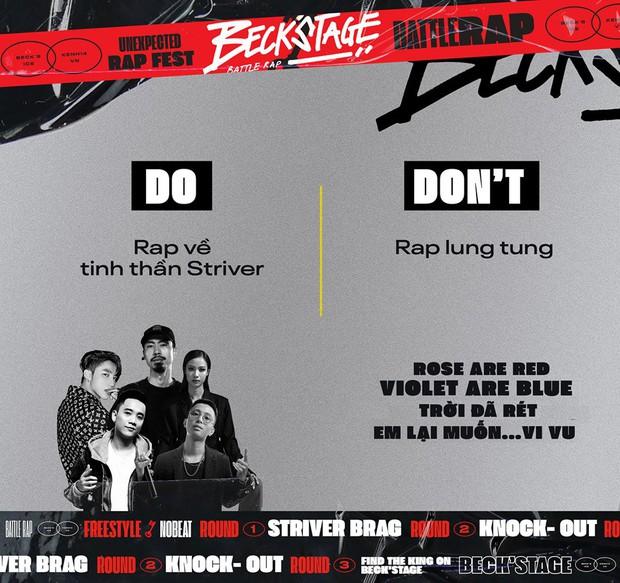 Gom ngay 5 bí kíp này để thực hiện bài dự thi Beck'Stage Battle Rap sao cho thật mượt! - Ảnh 2.