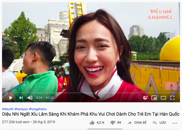 """Diệu Nhi là nghệ sĩ Vbiz đầu tiên có series mukbang trên Youtube: ăn khoẻ bất ngờ, độ """"lầy lội"""" thì khỏi bàn! - Ảnh 4."""