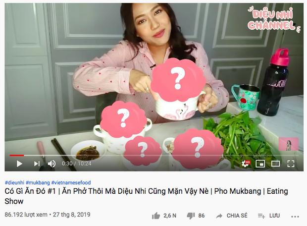 """Diệu Nhi là nghệ sĩ Vbiz đầu tiên có series mukbang trên Youtube: ăn khoẻ bất ngờ, độ """"lầy lội"""" thì khỏi bàn! - Ảnh 7."""