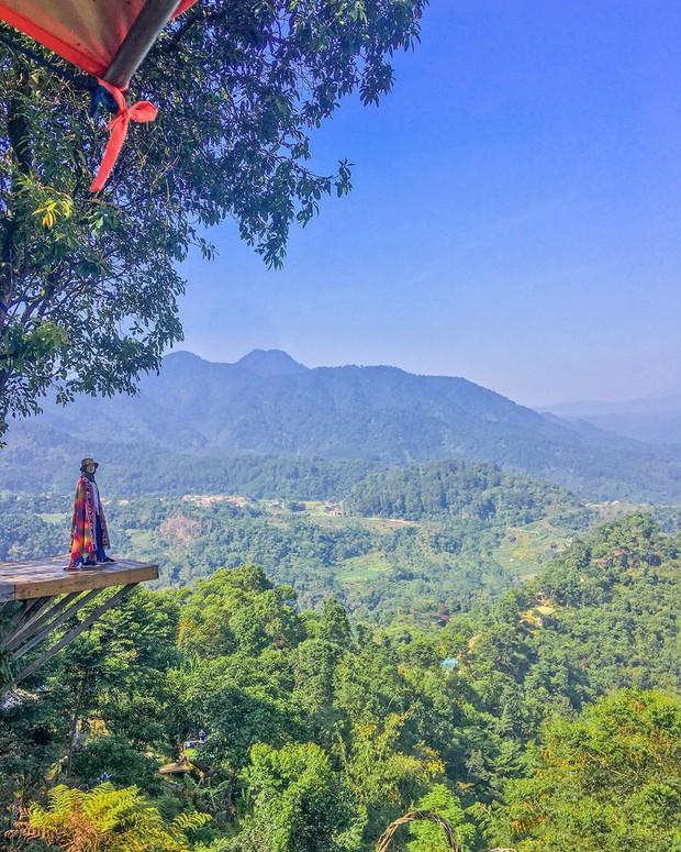 Độc nhất Indonesia quán cafe lửng lơ trên cây không dành cho hội yếu tim, dân mạng đua nhau check-in ầm ầm trên Instagram - Ảnh 9.