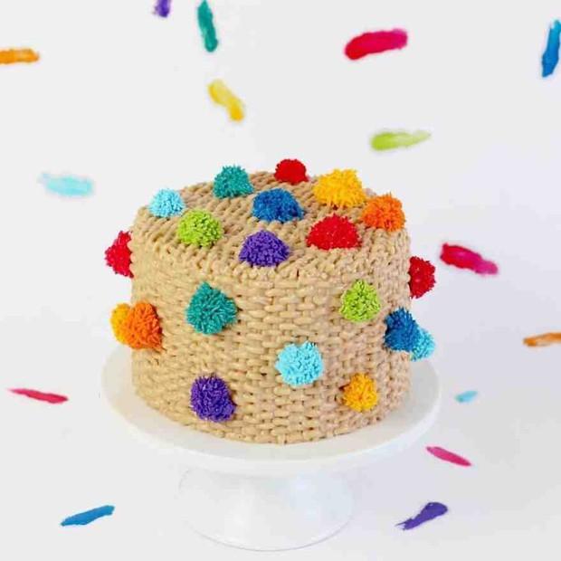 """Bánh kem lấy cảm hứng từ tấm thảm xù xì lại còn """"tắc kè hoa"""" thì sẽ như thế nào? - Ảnh 8."""