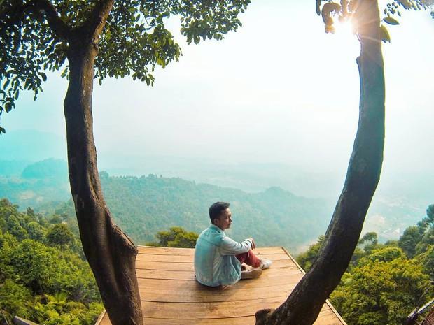 Độc nhất Indonesia quán cafe lửng lơ trên cây không dành cho hội yếu tim, dân mạng đua nhau check-in ầm ầm trên Instagram - Ảnh 18.