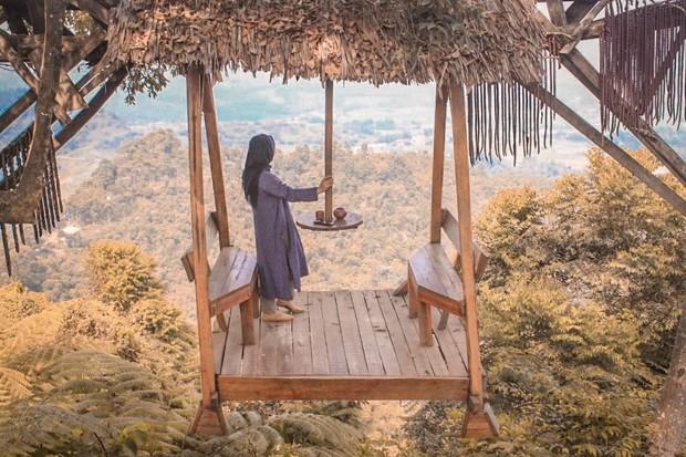 Độc nhất Indonesia quán cafe lửng lơ trên cây không dành cho hội yếu tim, dân mạng đua nhau check-in ầm ầm trên Instagram - Ảnh 5.
