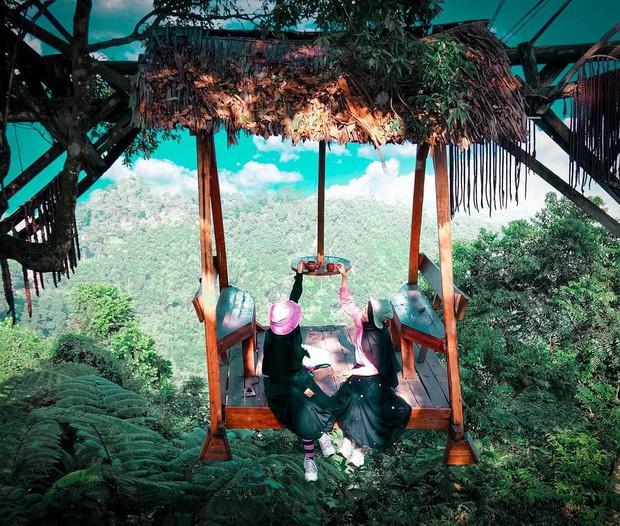 Độc nhất Indonesia quán cafe lửng lơ trên cây không dành cho hội yếu tim, dân mạng đua nhau check-in ầm ầm trên Instagram - Ảnh 21.