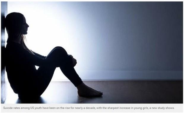 Ngày càng nhiều người trẻ muốn tự tử do áp lực cuộc sống giống như cô gái này - Ảnh 2.