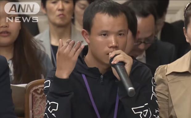 Bài phát biểu đau lòng của nam thực tập sinh làm việc vất vả đến mức cụt 3 ngón tay vẫn bị Nhật trả về nước - Ảnh 1.