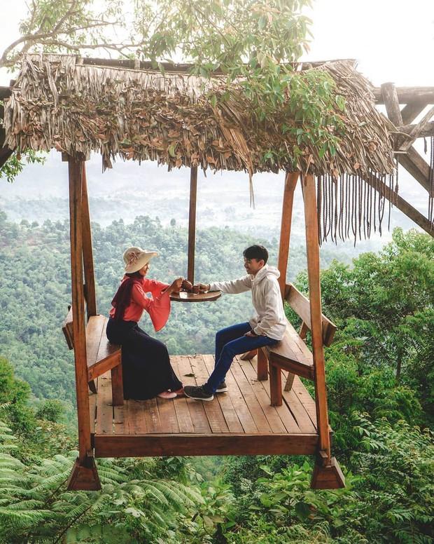 Độc nhất Indonesia quán cafe lửng lơ trên cây không dành cho hội yếu tim, dân mạng đua nhau check-in ầm ầm trên Instagram - Ảnh 20.