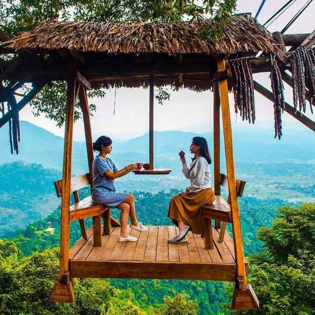 Độc nhất Indonesia quán cafe lửng lơ trên cây không dành cho hội yếu tim, dân mạng đua nhau check-in ầm ầm trên Instagram - Ảnh 17.