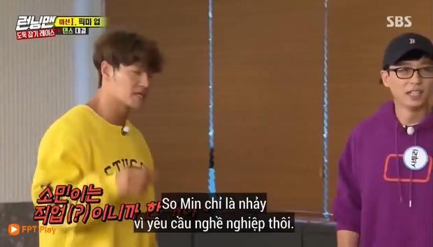 Jeon So Min nhảy sexy trên nền nhạc thiếu nhi khiến Haha ngăn cản: Con trai anh đang xem đấy! - Ảnh 5.