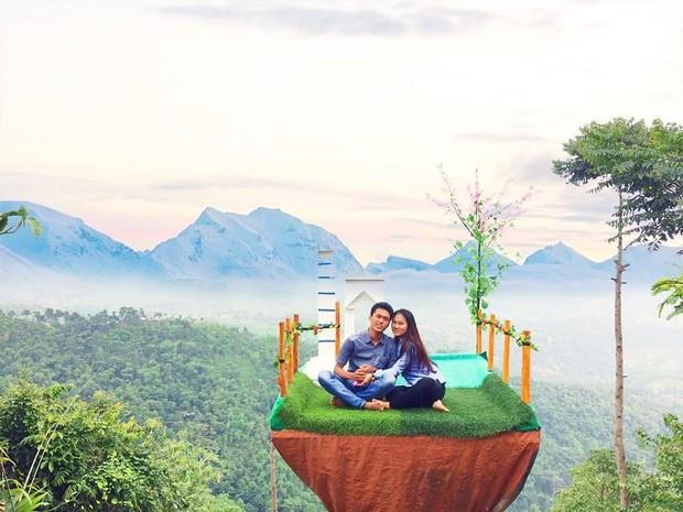 Độc nhất Indonesia quán cafe lửng lơ trên cây không dành cho hội yếu tim, dân mạng đua nhau check-in ầm ầm trên Instagram - Ảnh 6.