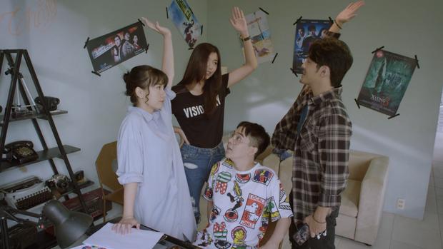 Đồng Ánh Quỳnh rủ rê bạn trai Miu Lê đóng web drama Phim Này Thắng Chắc, ekip chơi lầy từ đầu đến cuối - Ảnh 7.