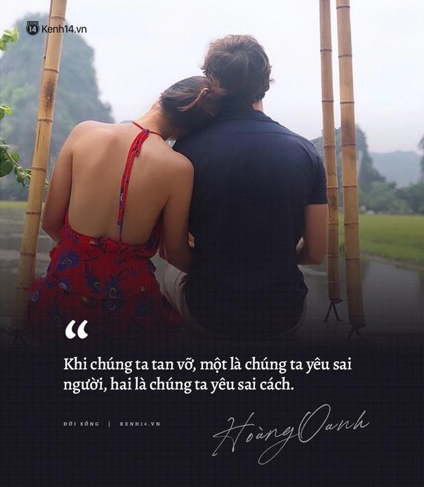 Hoàng Oanh và loạt chia sẻ từng trải về chuyện yêu trước đám cưới: Tình cảm lúc nồng nhiệt quá thì rất mệt, lúc lạnh nhạt quá thì rất buồn - Ảnh 1.