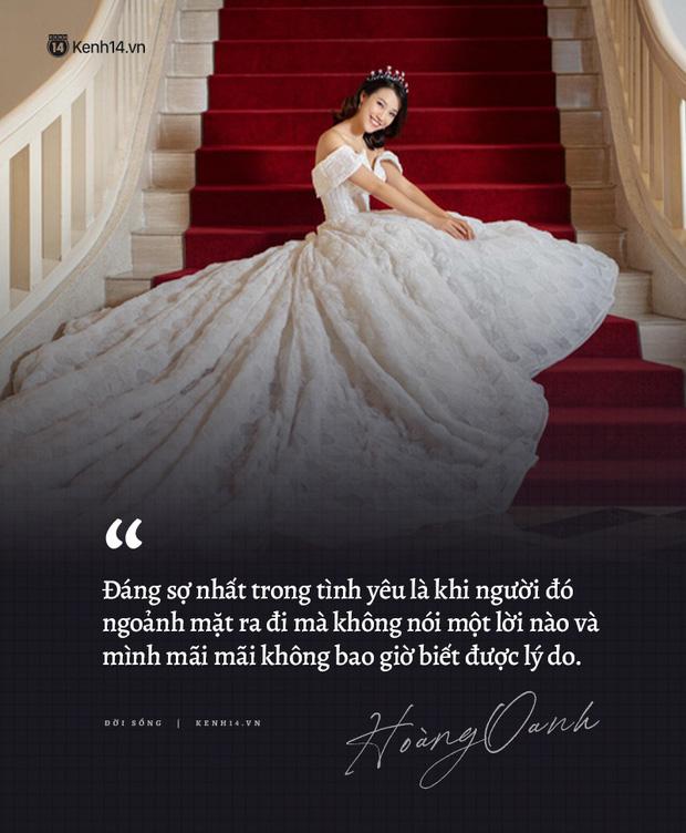 Hoàng Oanh và loạt chia sẻ từng trải về chuyện yêu trước đám cưới: Tình cảm lúc nồng nhiệt quá thì rất mệt, lúc lạnh nhạt quá thì rất buồn - Ảnh 4.