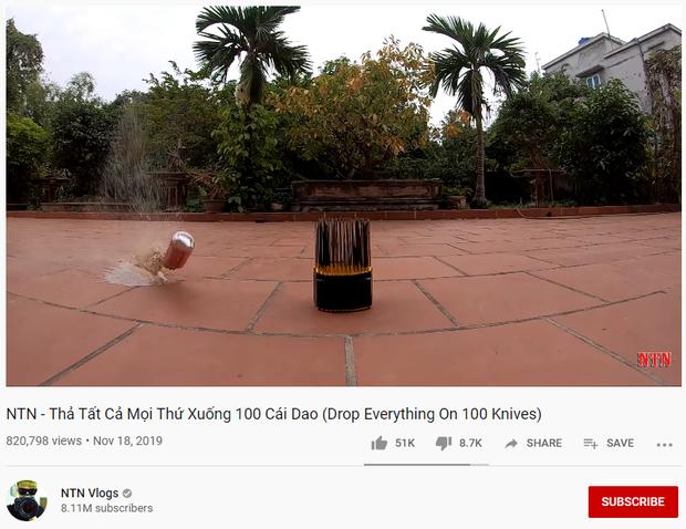 NTN Vlogs vẫn tiếp tục ra video thách thức dư luận dù nhận nhiều gạch đá, tự hào với kỷ lục Dislike - Ảnh 2.