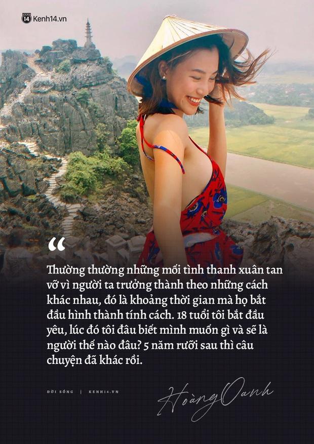 Hoàng Oanh và loạt chia sẻ từng trải về chuyện yêu trước đám cưới: Tình cảm lúc nồng nhiệt quá thì rất mệt, lúc lạnh nhạt quá thì rất buồn - Ảnh 9.