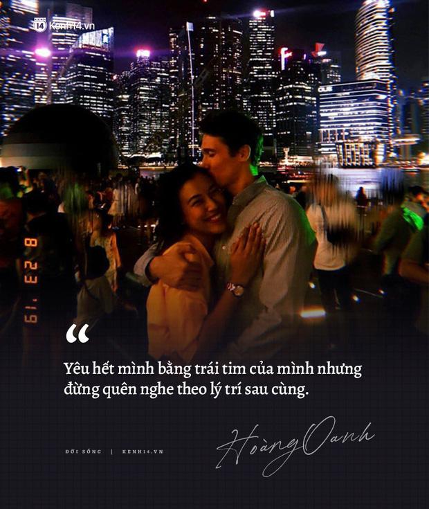Hoàng Oanh và loạt chia sẻ từng trải về chuyện yêu trước đám cưới: Tình cảm lúc nồng nhiệt quá thì rất mệt, lúc lạnh nhạt quá thì rất buồn - Ảnh 10.