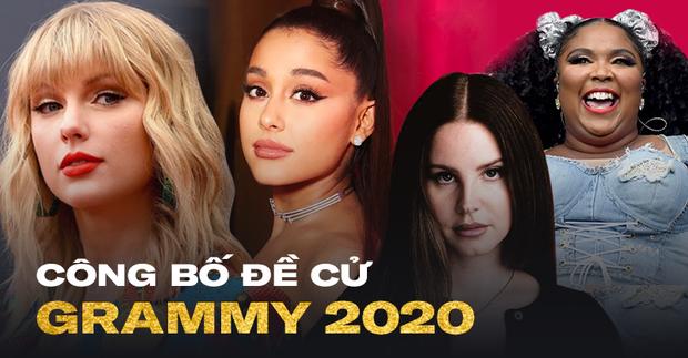 Công bố đề cử Grammy 2020: nói không với Kpop Taylor Swift, Lana Del Rey nhận quả ngọt, rapper được BTS săn đón thống trị! - Ảnh 1.