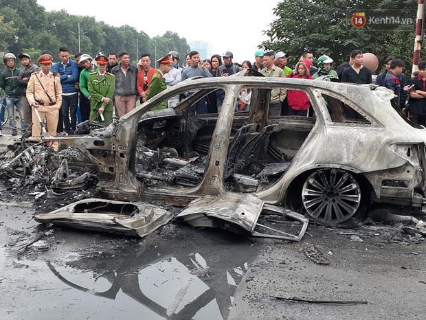Nữ sinh 18 tuổi sợ hãi kể lại giây phút thoát chết trong vụ xe ô tô Mercedes gây tai nạn liên hoàn rồi bốc cháy - Ảnh 1.