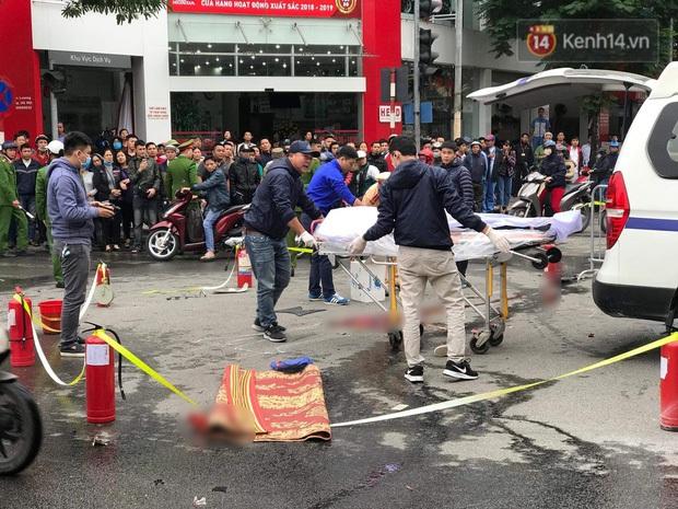 Nữ tài xê lái xe ô tô Mercedes GLC 250 gây tai nạn liên hoàn rồi bốc cháy đã ra công an trình diện - Ảnh 2.