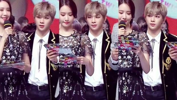 Nhan sắc các nữ thần Hàn qua phản ứng của dàn sao đình đám: GD mê Yoona như điếu đổ, IU mê hoặc cả em út BTS và TWICE - Ảnh 3.