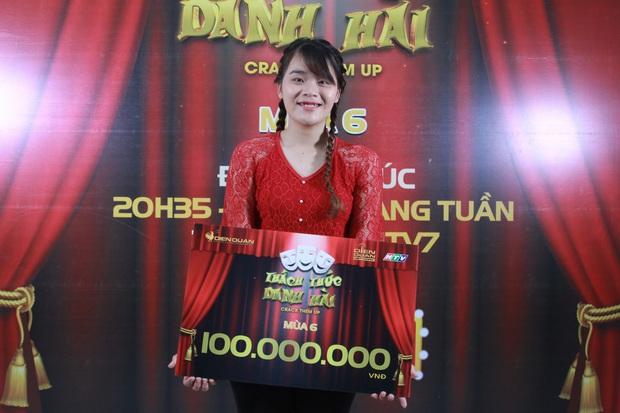 Hé lộ hình ảnh trước khi thành Thánh sún của cô gái vừa giành 100 triệu tại Thách thức danh hài - Ảnh 2.