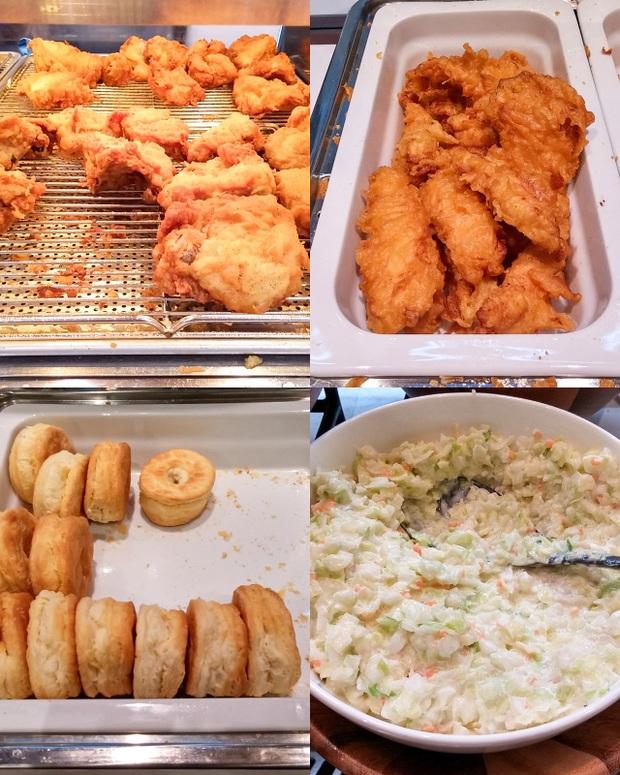 Một nhà hàng KFC ở Nhật mở tiệc buffet phục vụ hơn 50 món, thực đơn có gì hot mà dân tình kéo đến ăn đông nghịt? - Ảnh 9.