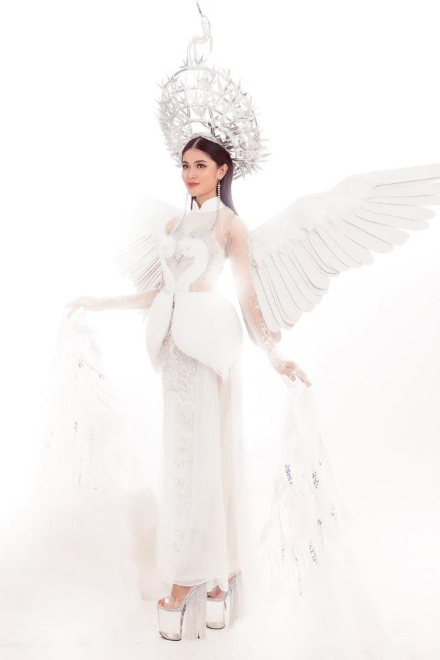 Được ủng hộ nhiều nhất nhưng trang phục Cò có đủ mới lạ để Hoàng Thùy mang đi Miss Universe? - Ảnh 3.